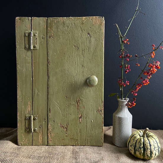 Gorgeous Green French Vintage Cupboard