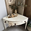 Thumbnail: Vintage Swedish Corner Table with One Drawer