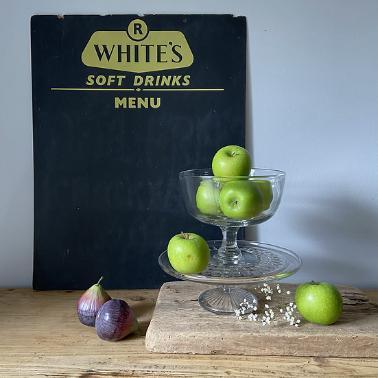 Vintage R Whites Blackboard/Menu Board