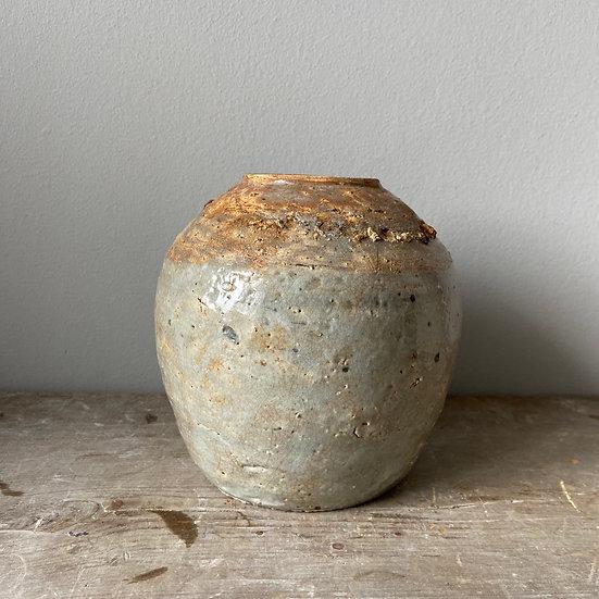 Large Vintage Ginger Jar
