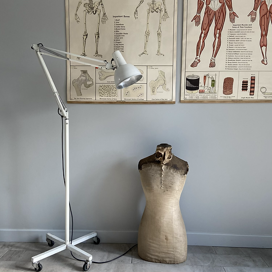 Genuine Vintage Anglepoise Trolley Floor Lamp