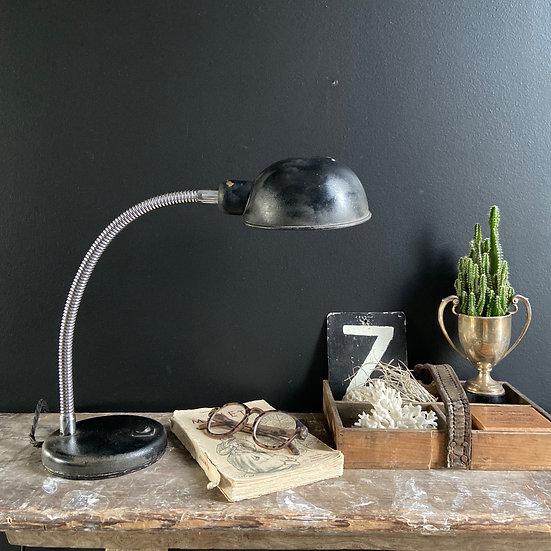 Black Vintage Gooseneck Lamp