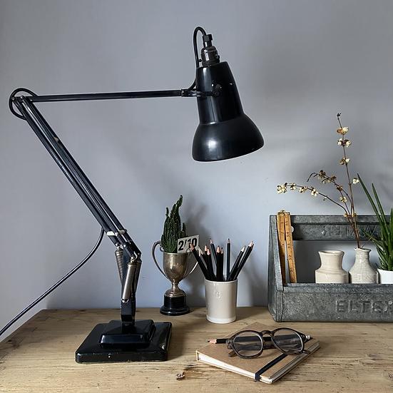 A Genuine Herbert Terry Black Anglepoise Lamp