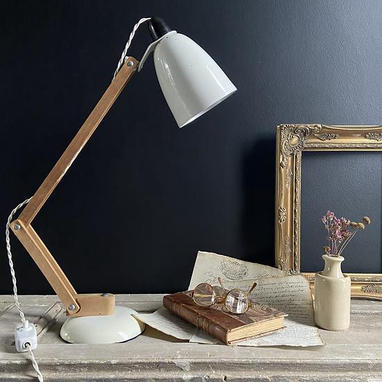 Genuine Off White 1950's Mac Lamp