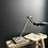 Thumbnail: Vintage Scratch Built Singer Machinists Lamp
