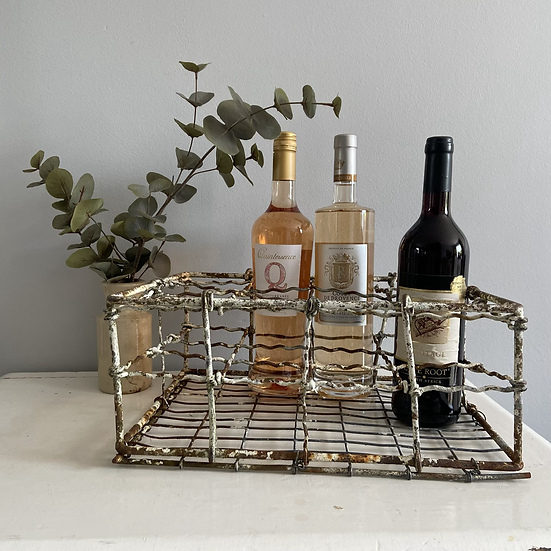 Chippy, Weathered Vintage Bottle Crate