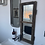 Thumbnail: Tall Vintage Wooden Window Mirror