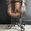 Thumbnail: Genuine Antique Arts & Crafts Copper Coal Bucket With Wrought Iron Legs & Handle
