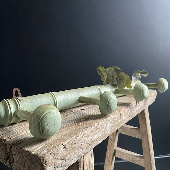 French Wooden Coat Hooks