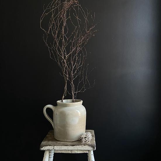 Large French Vintage Stoneware Pot