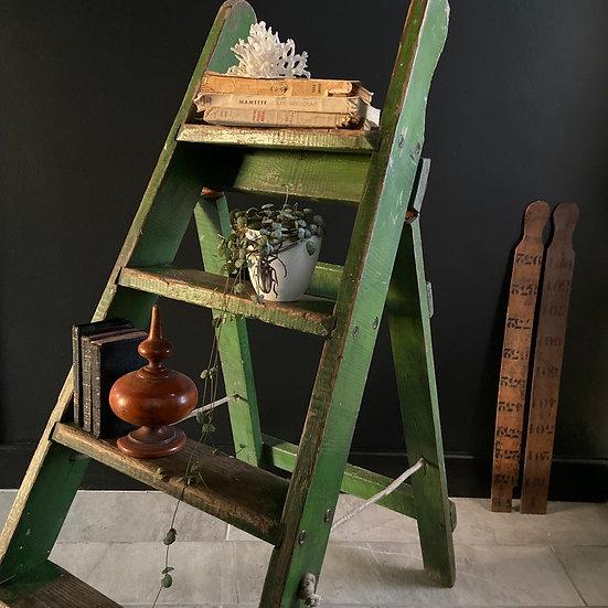 Rustic Vintage Wooden Step Ladders