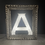 Thumbnail: Vintage Shop Sign Illuminated Letter A