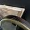 Thumbnail: Rare Mahogany and Brass Tilting Adjustable Art Nouveau Shaving Mirror