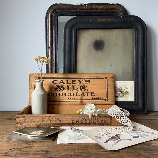 Vintage Caley's Chocolate Delivery and Display Box