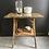 Thumbnail: Large Victorian Tiger Bamboo Lamp Table