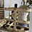 Thumbnail: Cream Chippy Paint French Bottle Carrier