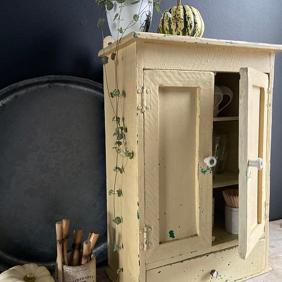 Beautiful French Cupboard With Drawer