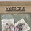 Thumbnail: Vintage Handmade & Hand Painted Girl Guide Camp Notice Board