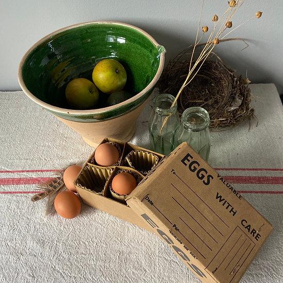 Vintage Egg Postal Box