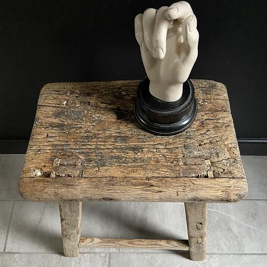 Beautiful Rustic Wooden Stool #3
