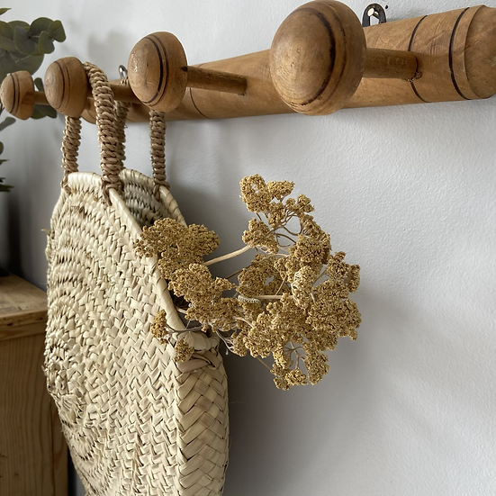French Wooden Coat Hook