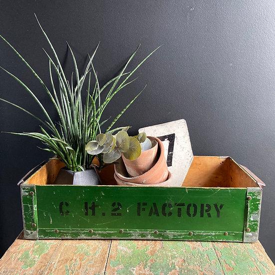 Vintage Factory Tray