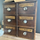 Thumbnail: Antique Mid 19th Century Genuine Apothecary Drawers