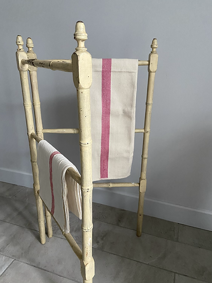 French Antique Clothes Horse Airer
