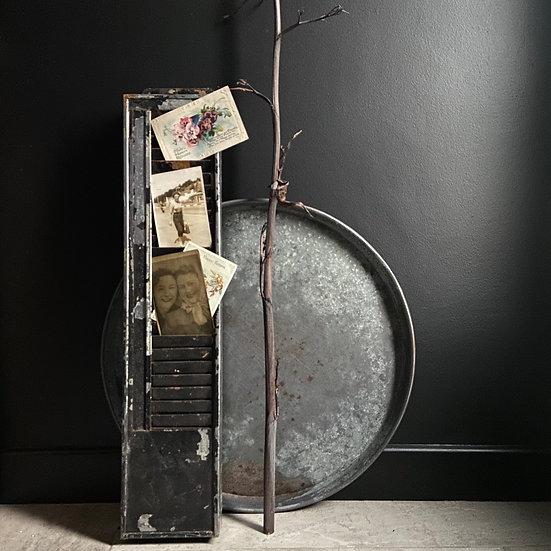 Vintage Clocking In/Out Card Holder