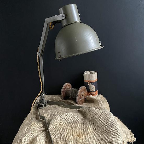 Vintage Czechoslovakian Folding Field Lamp