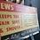Thumbnail: Large Vintage Cardboard  Transport Advertising Sign Circa 1950's