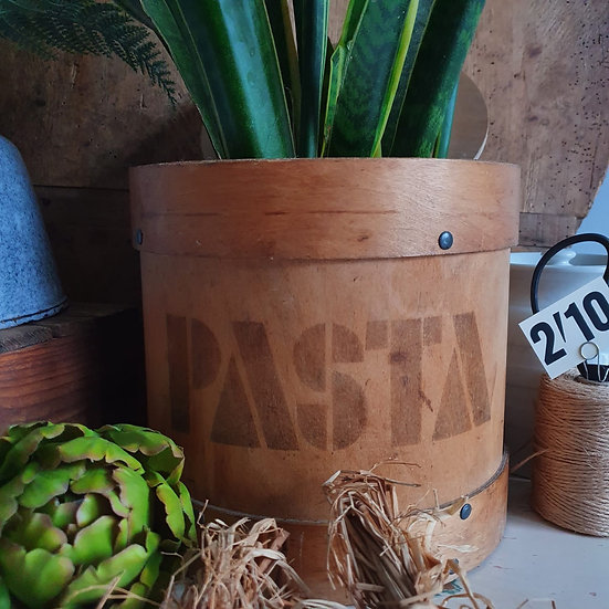 A Vintage Bentwood PASTA Container