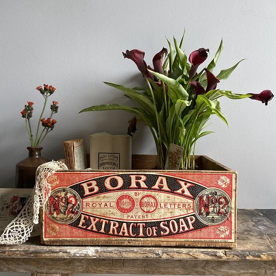 Rare Vintage Borax Crate