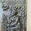 Thumbnail: Victorian Antique Cast Iron Panel in Relief Depicting a Farmer