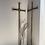 Thumbnail: Large Blacksmith Made Metal Cross