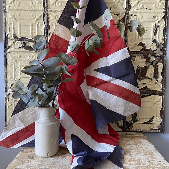 Antique Union Jack from 1918