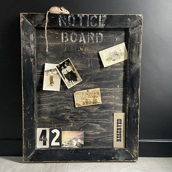 A Lovely Large Vintage Church Notice Board