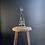 Thumbnail: Vintage Turned Wood Inspection Light Lamp