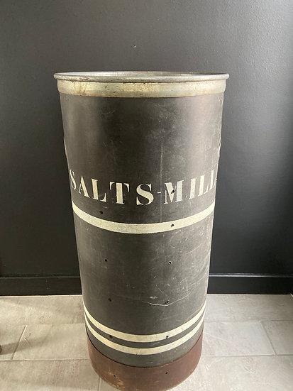 Original Vintage Work Bin From Salts Mill in Saltaire