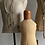 Thumbnail: Vintage Wood and Linen Child Mannequin