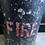 Thumbnail: Unusual Vintage Black Fire Bucket