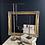 Thumbnail: Tall Adjustable Art Deco Metal Jewellery Stand