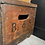 Thumbnail: Vintage Burrows and Sturgess of Derby Lidded Crate
