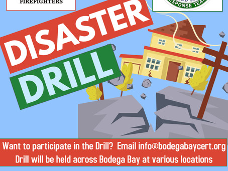 Participate in the CERT Emergency Drill