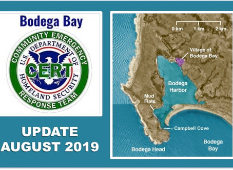 BODEGA BAY CERT UPDATE AUGUST 2019