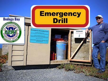 October 4th Bodega Bay CERT Practice Drill, Emergency Preparedness
