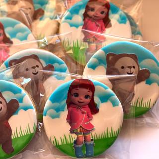 Rainbow Ruby Cookies