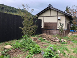 別館の庭園