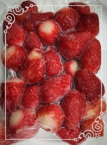 CAS冷凍 frozen Strawberry