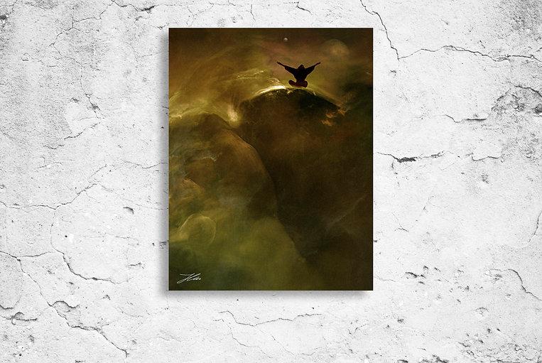 Die Illusion des Ich, Mixed media on canvas © 2004 Sven Joerg Hansen